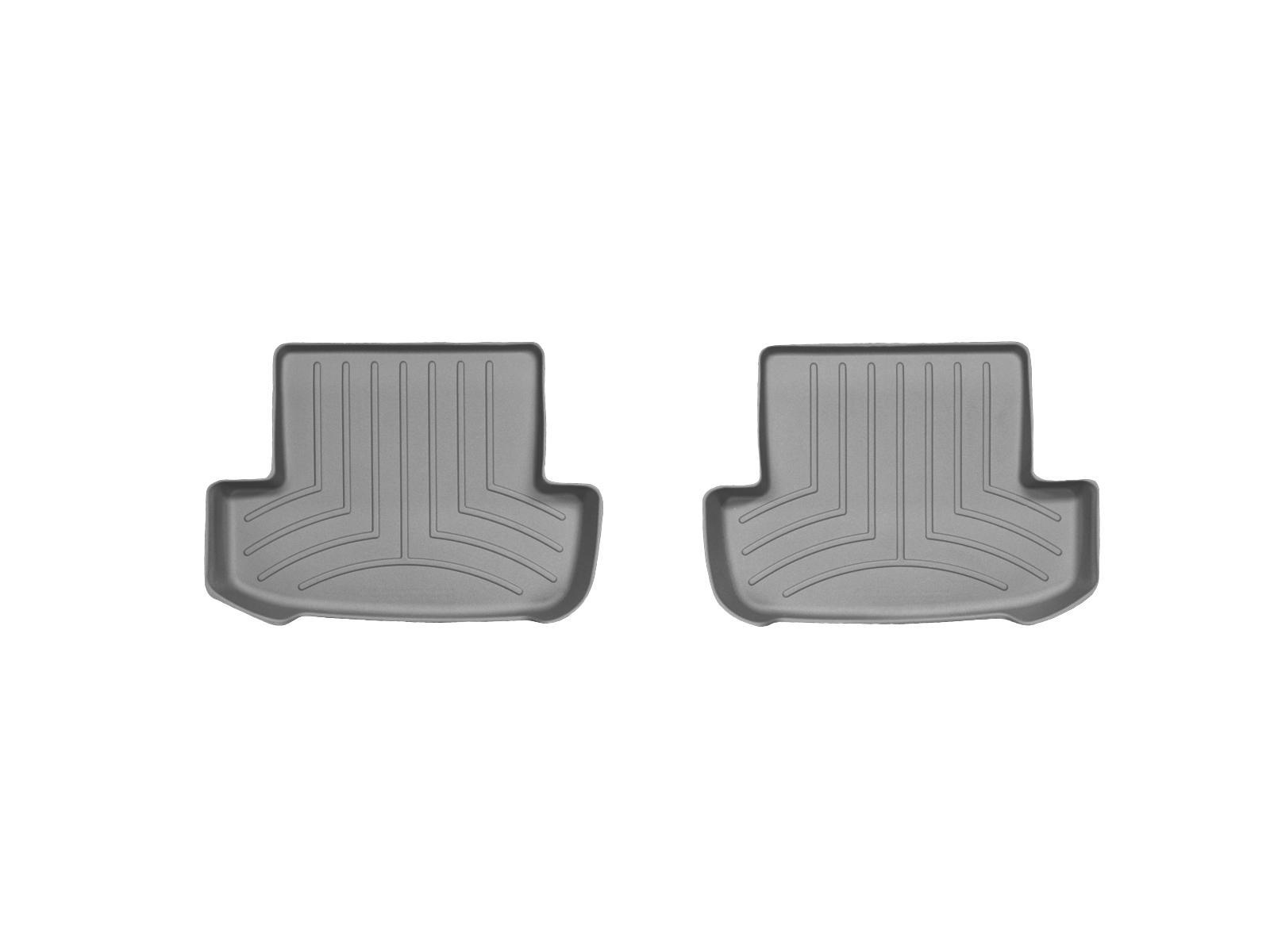 Tappeti gomma su misura bordo alto Mercedes E-Class 12>12 Grigio A2393*