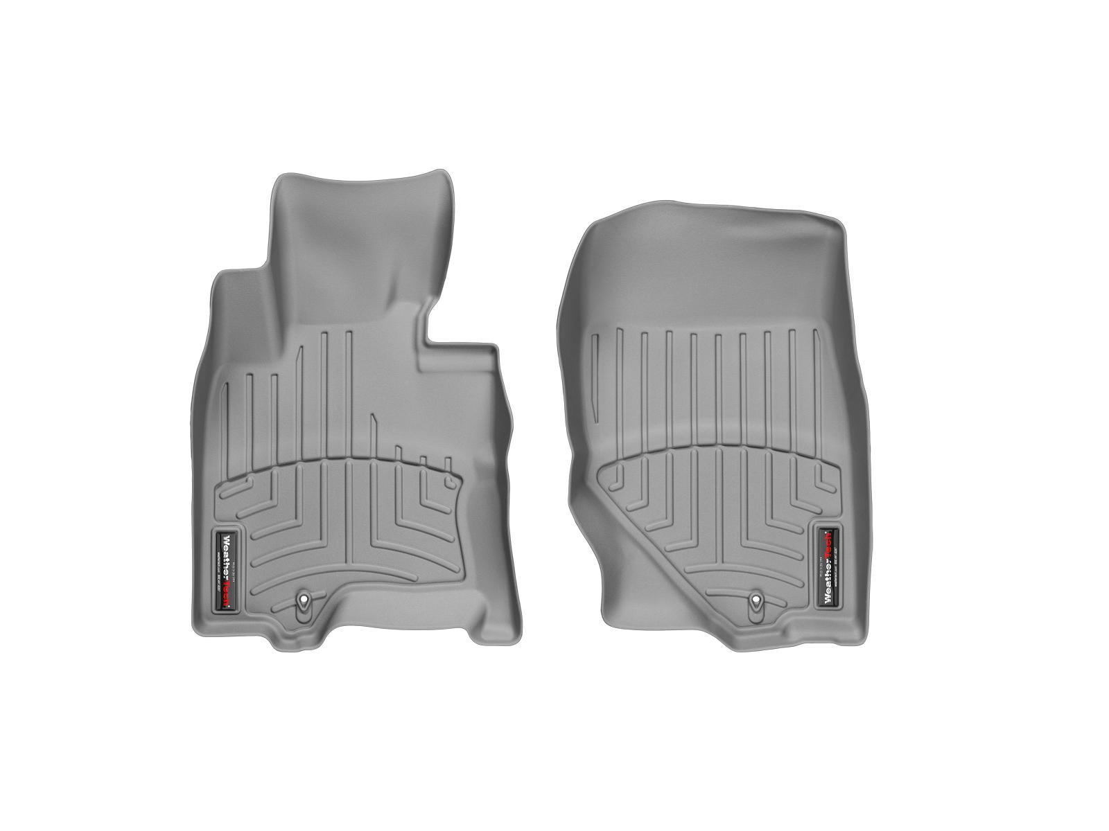 Tappeti gomma su misura bordo alto Infiniti FX 08>12 Grigio A1516