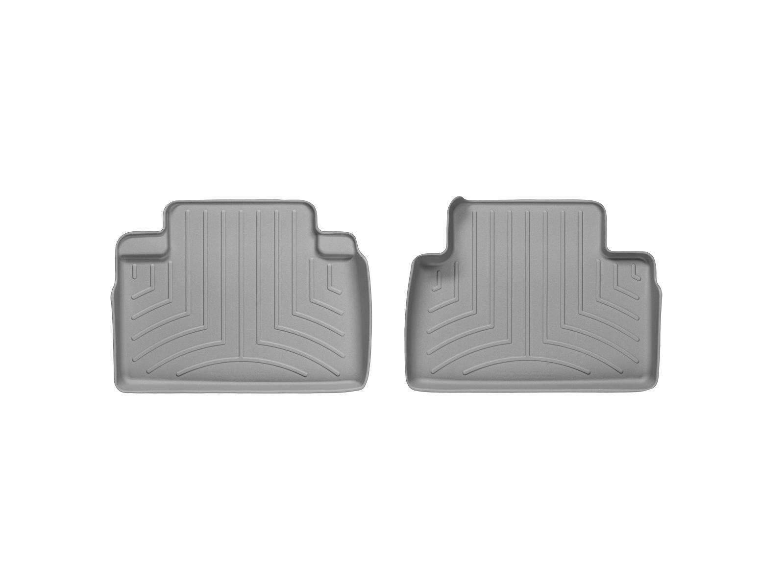 Tappeti gomma su misura bordo alto Infiniti FX 08>12 Grigio A1518