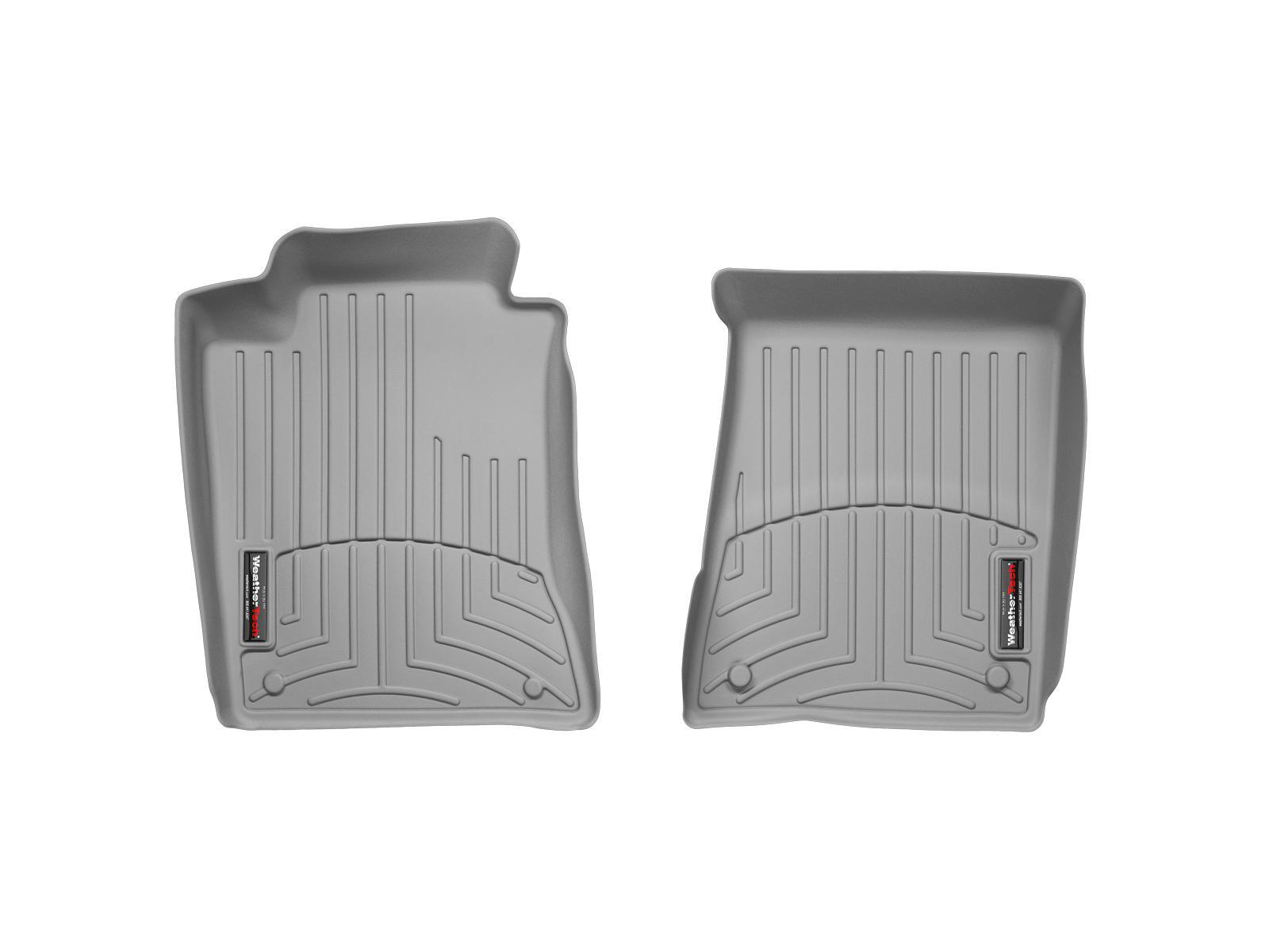 Tappeti gomma su misura bordo alto Mercedes E-Class 03>09 Grigio A2360*