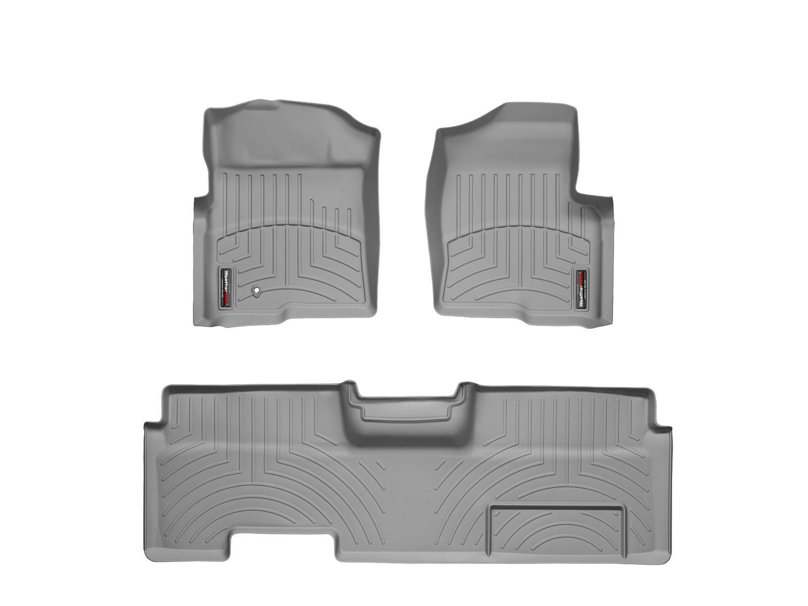Tappeti gomma su misura bordo alto Ford F-150 09>09 Grigio A896*