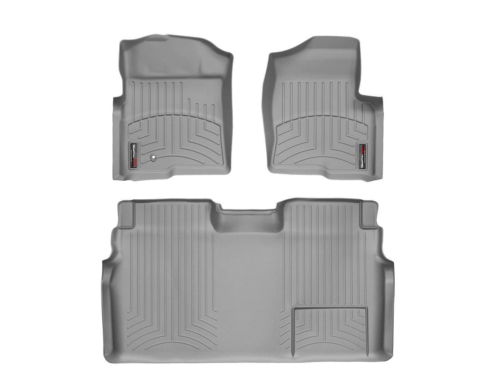 Tappeti gomma su misura bordo alto Ford F-150 09>09 Grigio A897*