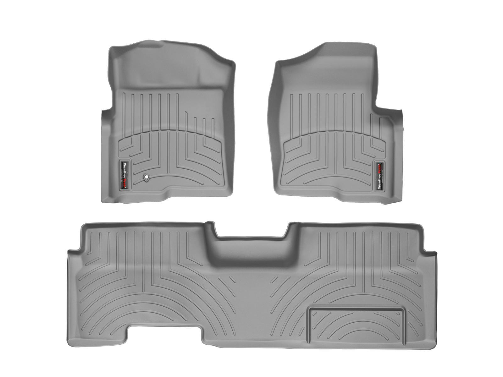 Tappeti gomma su misura bordo alto Ford F-150 09>09 Grigio A898*