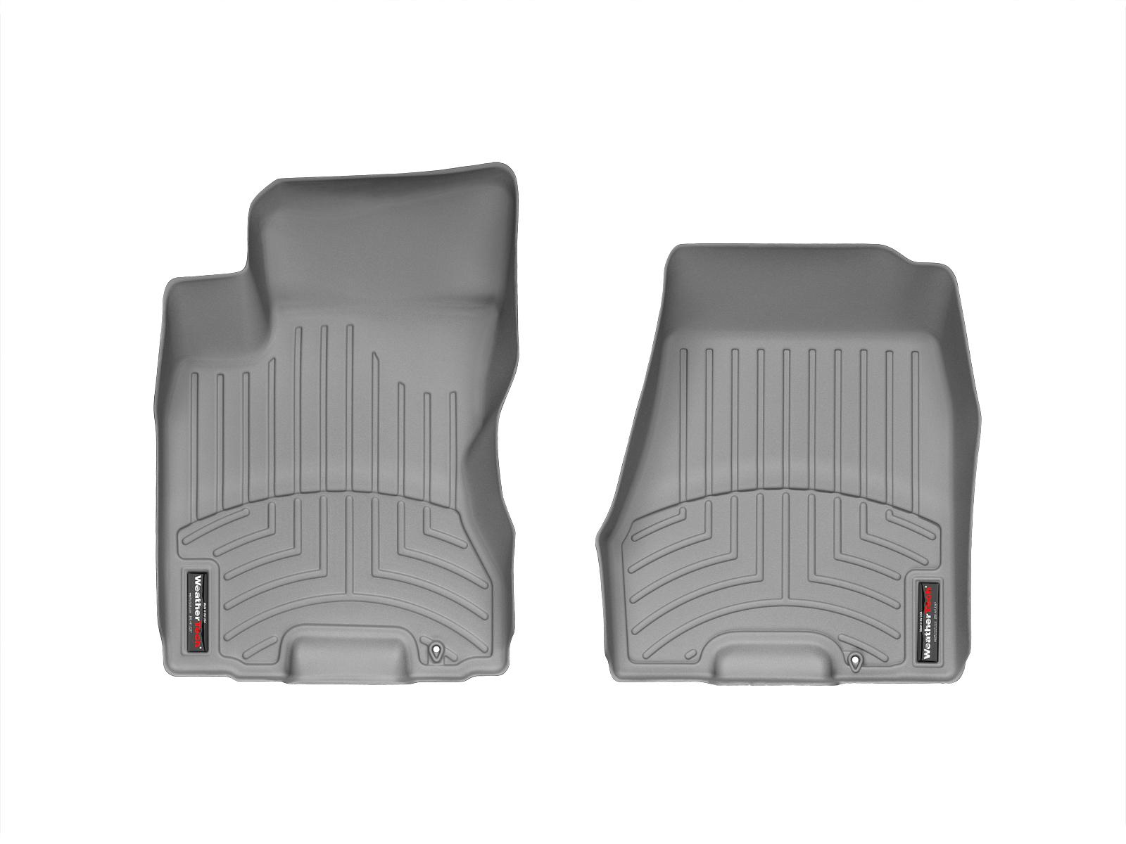 Tappeti gomma su misura bordo alto Nissan X-Trail 14>14 Grigio A2931