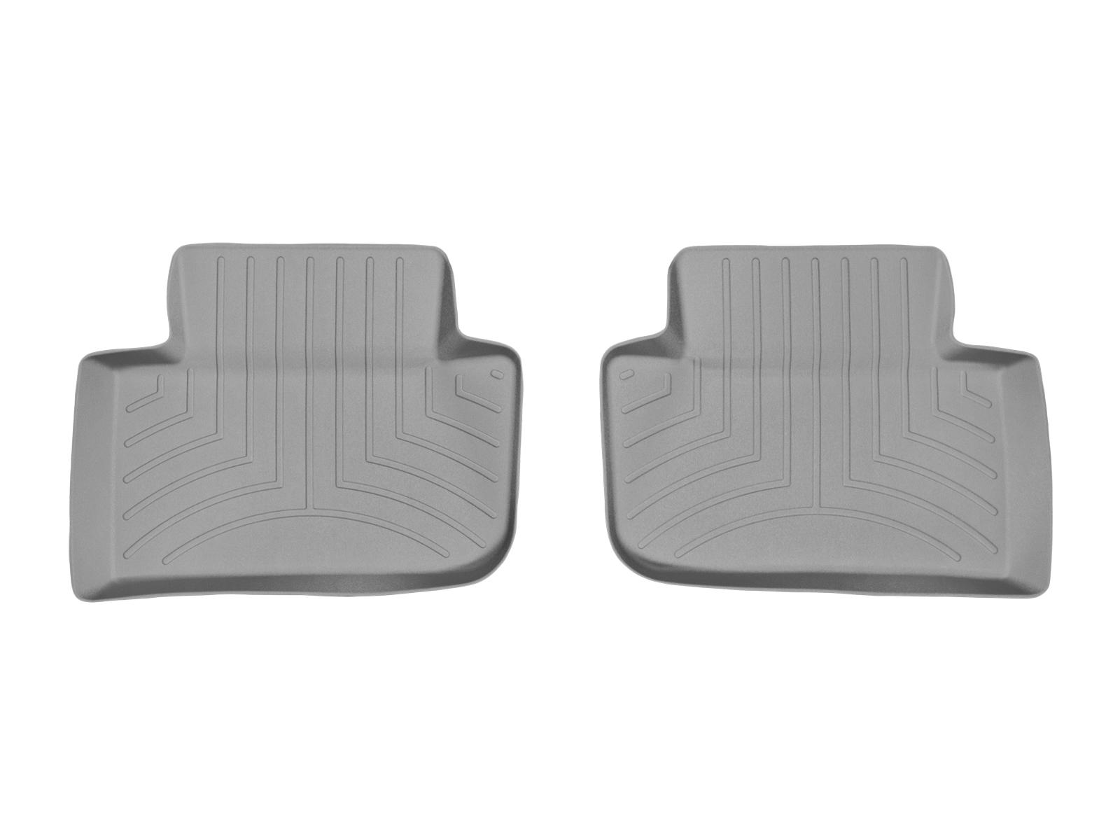 Tappeti gomma su misura bordo alto Porsche® Macan 14>17 Grigio A3164
