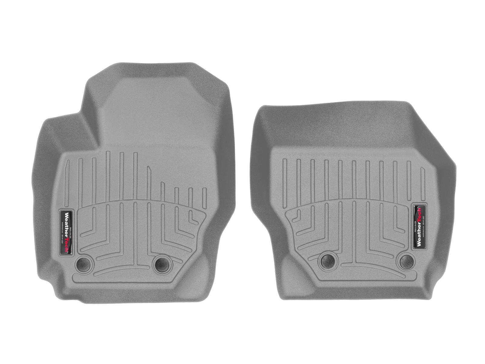 Tappeti gomma su misura bordo alto Volvo V70 07>07 Grigio A4406*