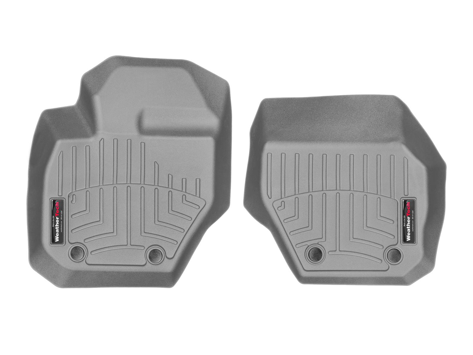 Tappeti gomma su misura bordo alto Volvo XC60 08>17 Grigio A4419*