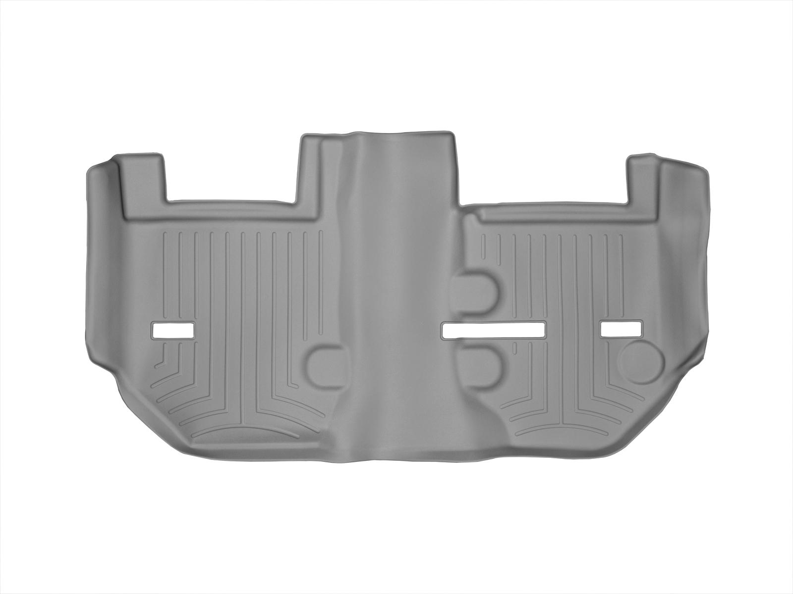 Tappeti gomma su misura bordo alto Cadillac Escalade ESV 11>14 Grigio A62*