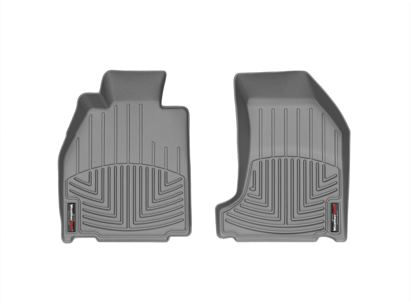 Tappeti gomma su misura bordo alto Porsche® 911® (997) 05>11 Grigio A3082