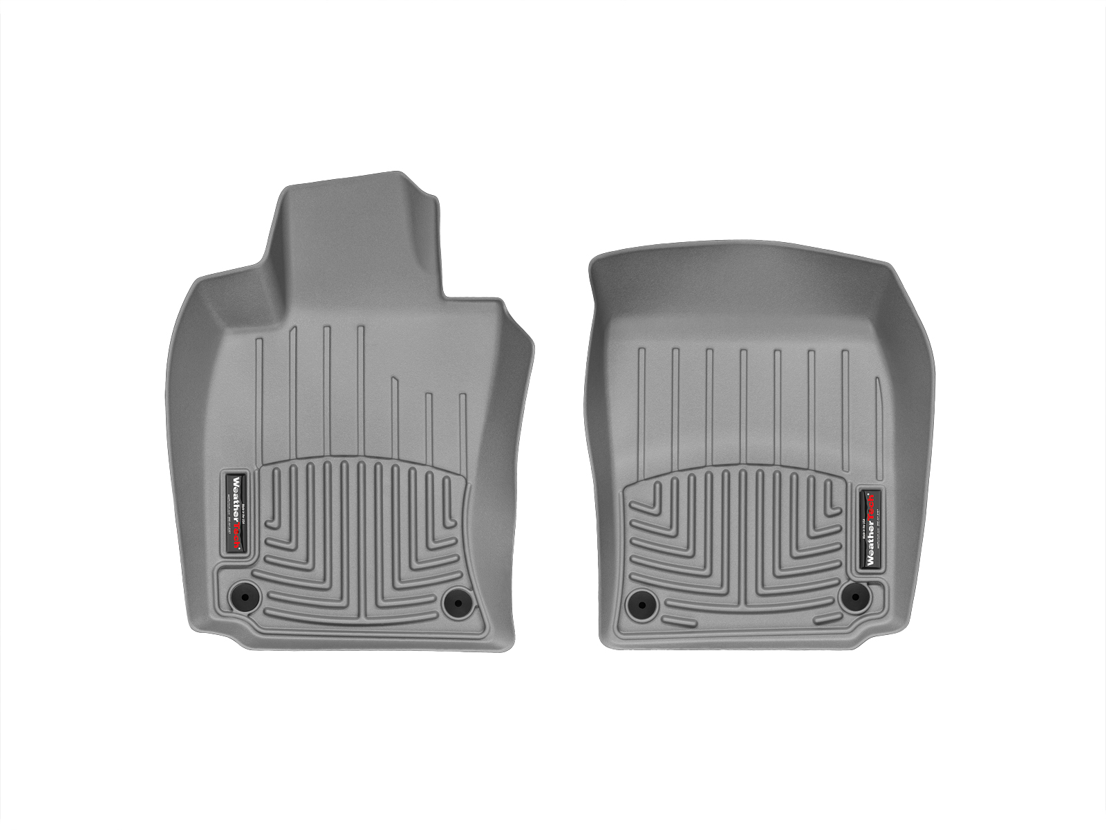 Tappeti gomma su misura bordo alto Porsche® Panamera 10>16 Grigio A3169