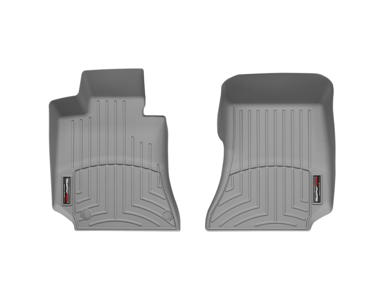 Tappeti gomma su misura bordo alto Mercedes E-Class 09>11 Grigio A2375*