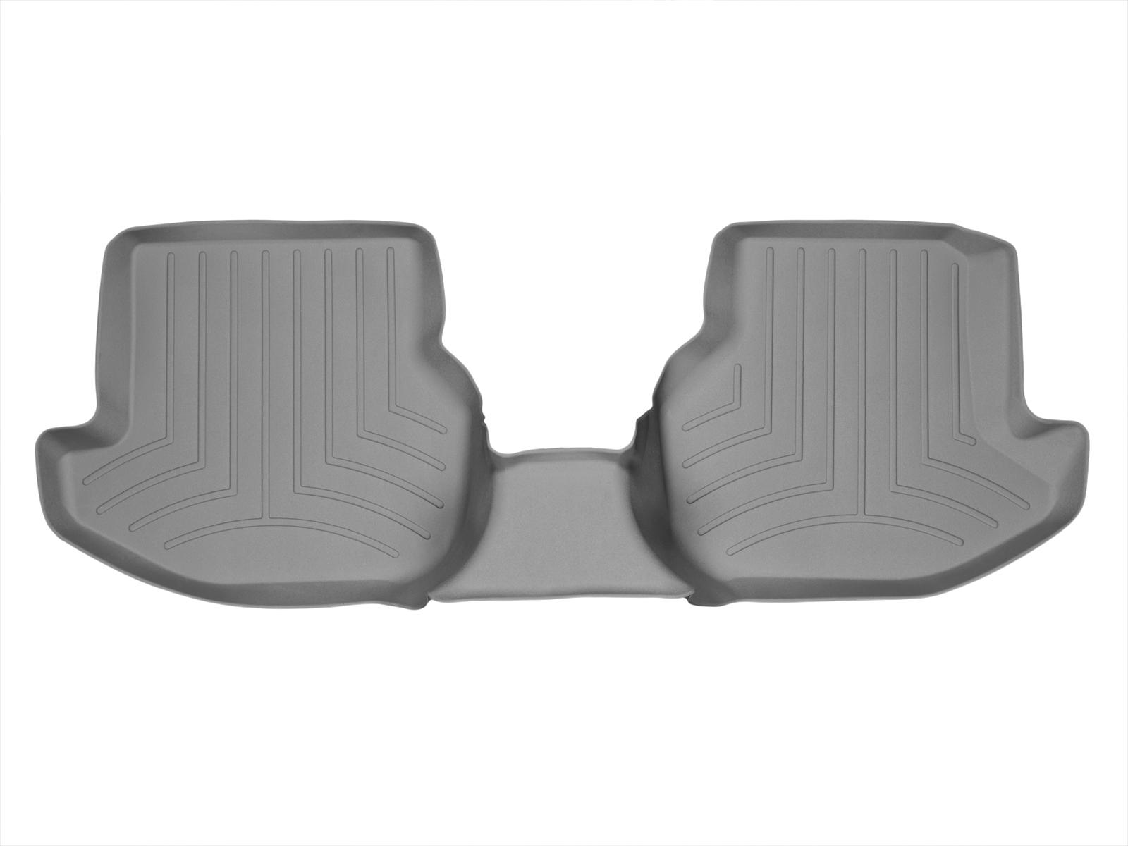Tappeti gomma su misura bordo alto Volkswagen Eos 07>16 Grigio A4010*