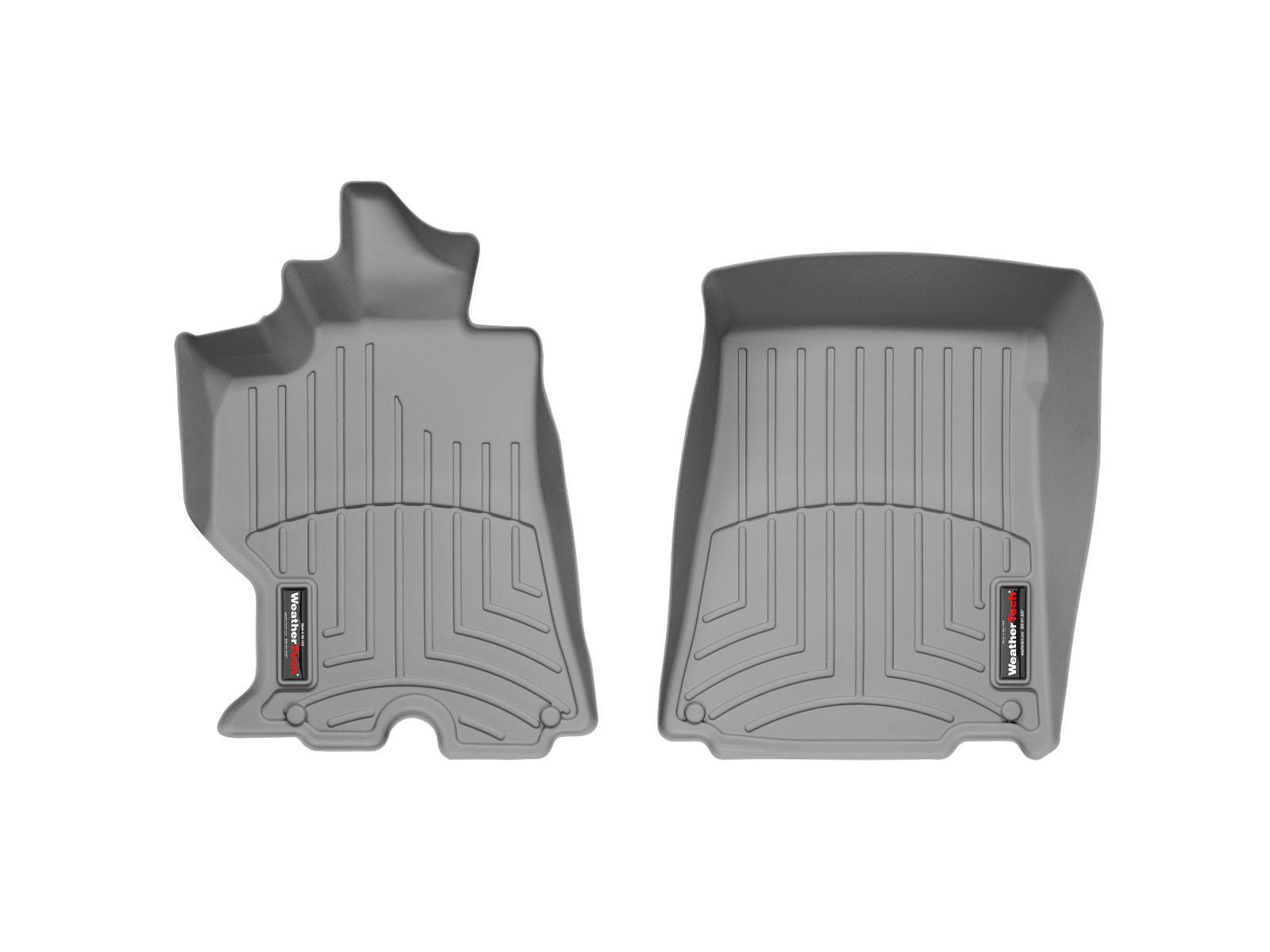 Tappeti gomma su misura bordo alto Ferrari California 09>13 Grigio A734*