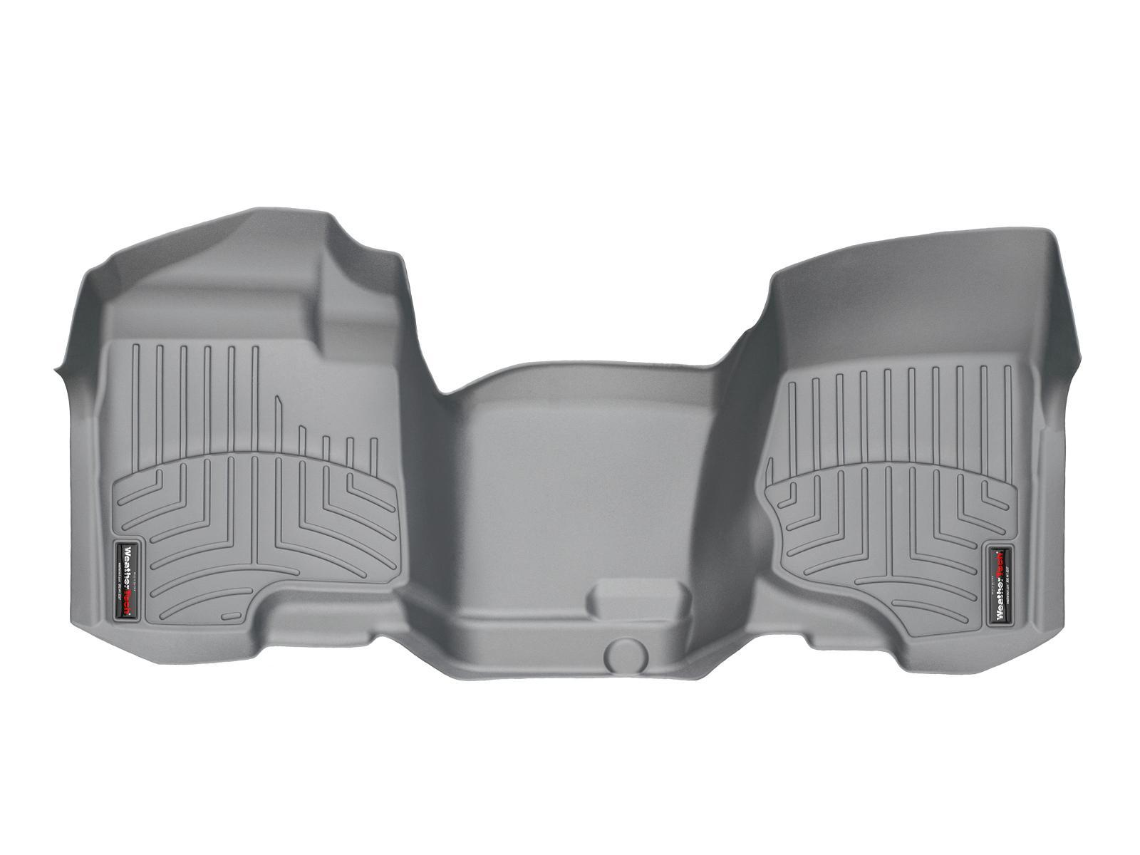 Tappeti gomma su misura bordo alto Chevrolet Silverado 07>07 Grigio A160