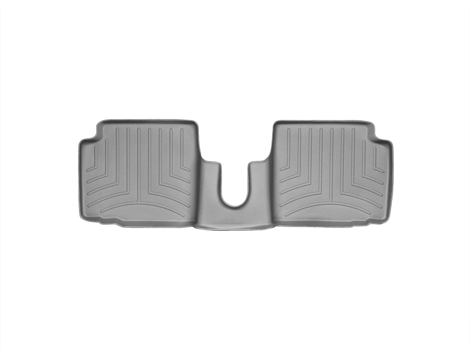 Tappeti gomma su misura bordo alto Fiat 500 07>17 Grigio A753*