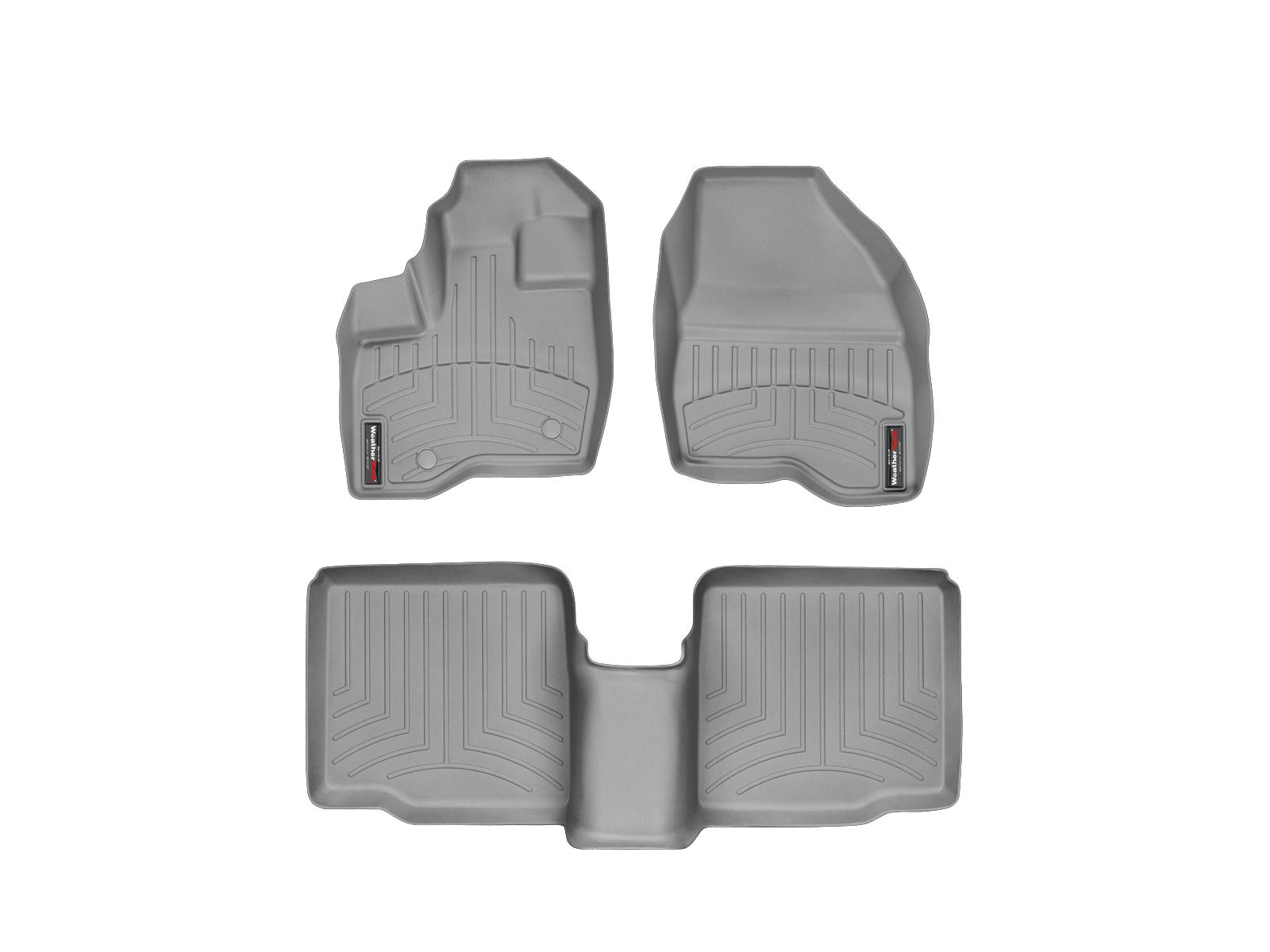 Tappeti gomma su misura bordo alto Ford Explorer 11>14 Grigio A862*