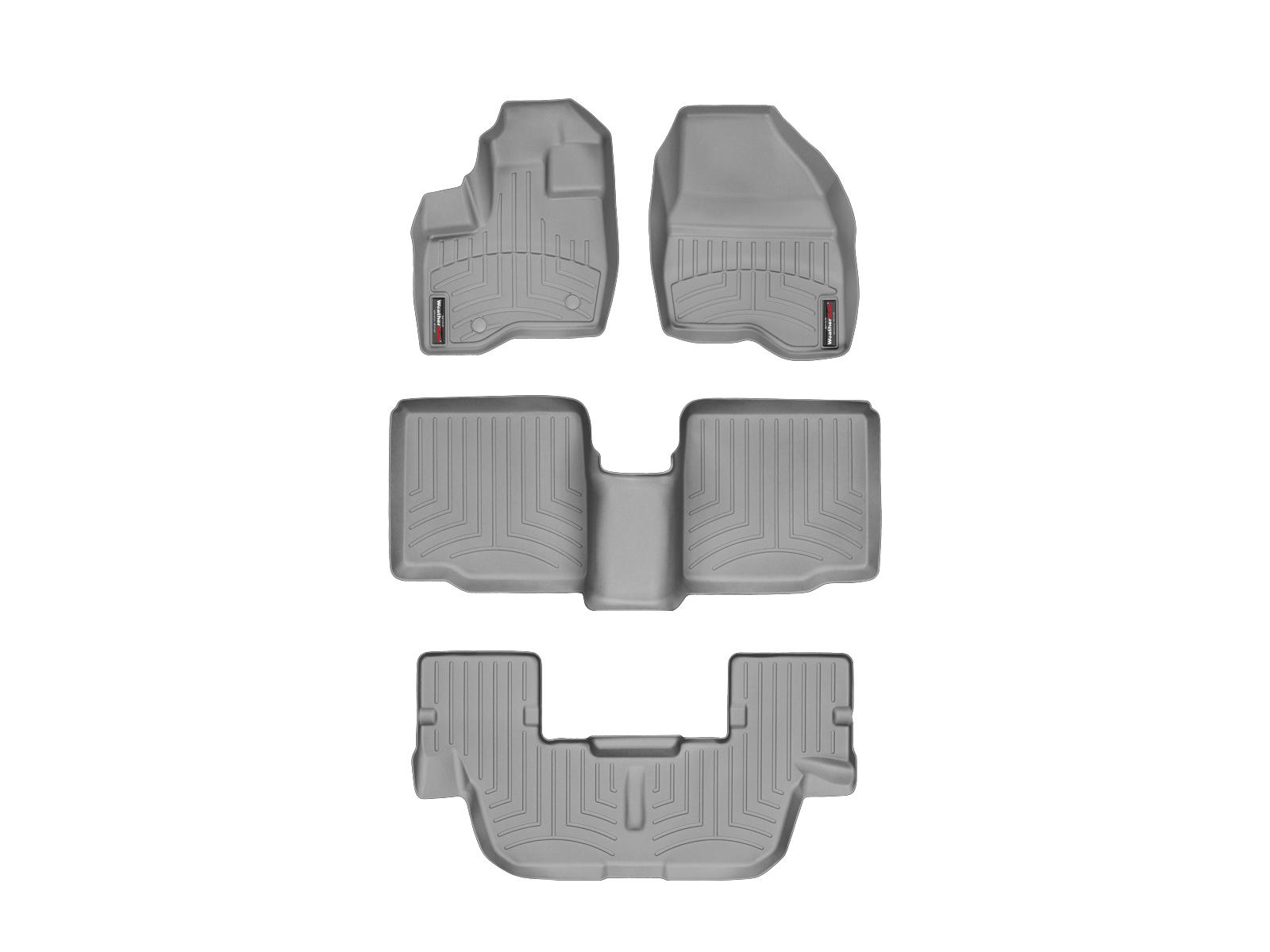 Tappeti gomma su misura bordo alto Ford Explorer 11>14 Grigio A863*