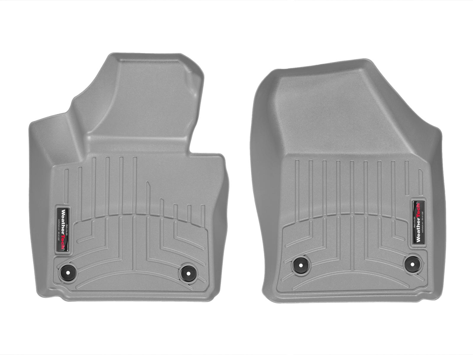 Tappeti gomma su misura bordo alto Volkswagen Touran 10>14 Grigio A4337*