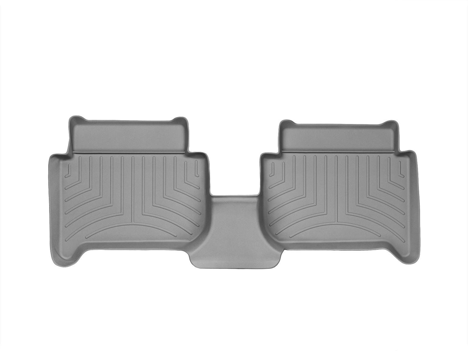 Tappeti gomma su misura bordo alto Volkswagen Touran 10>14 Grigio A4338*