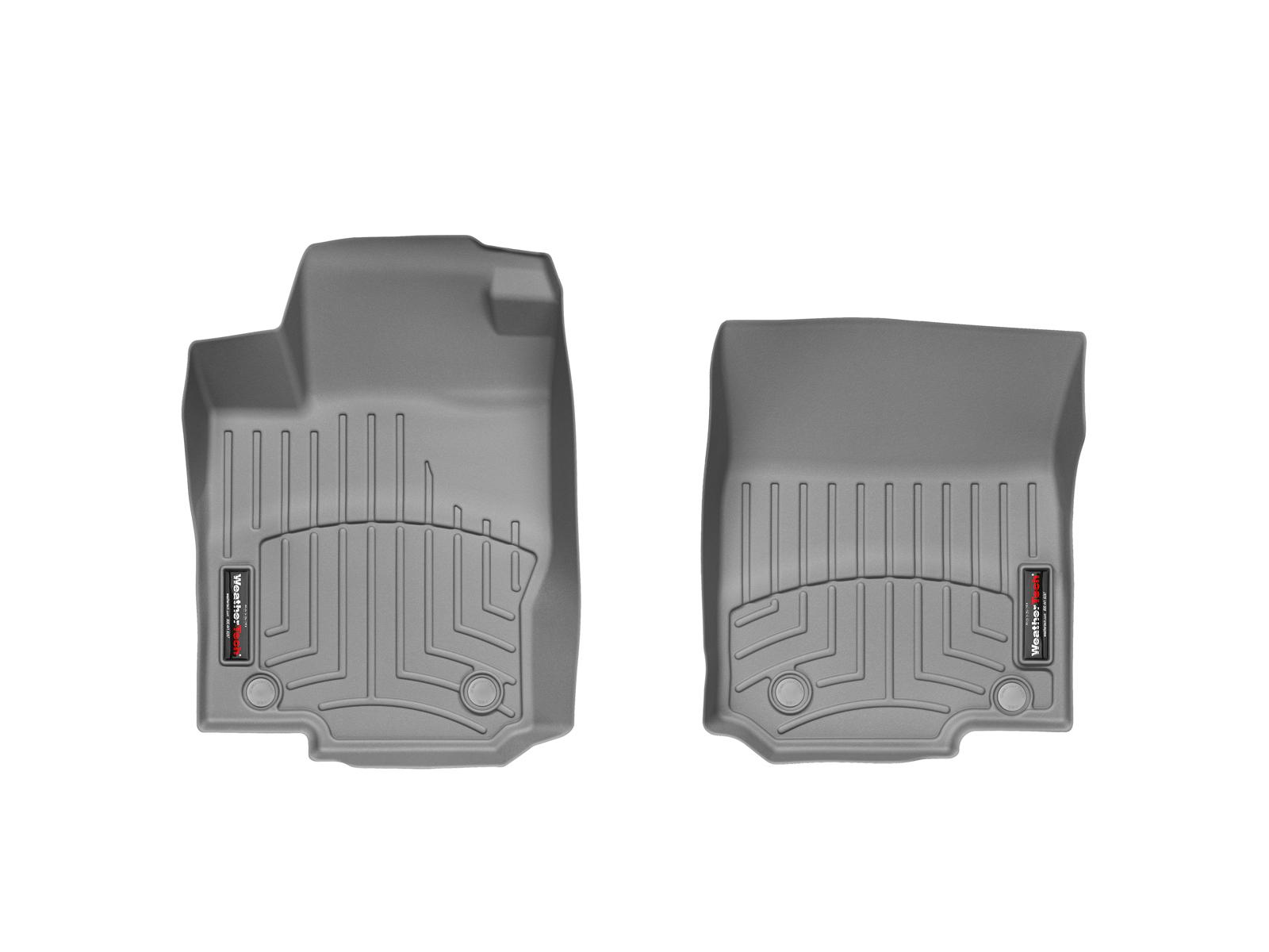 Tappeti gomma su misura bordo alto Mercedes GLE-Class 15>17 Grigio A2477