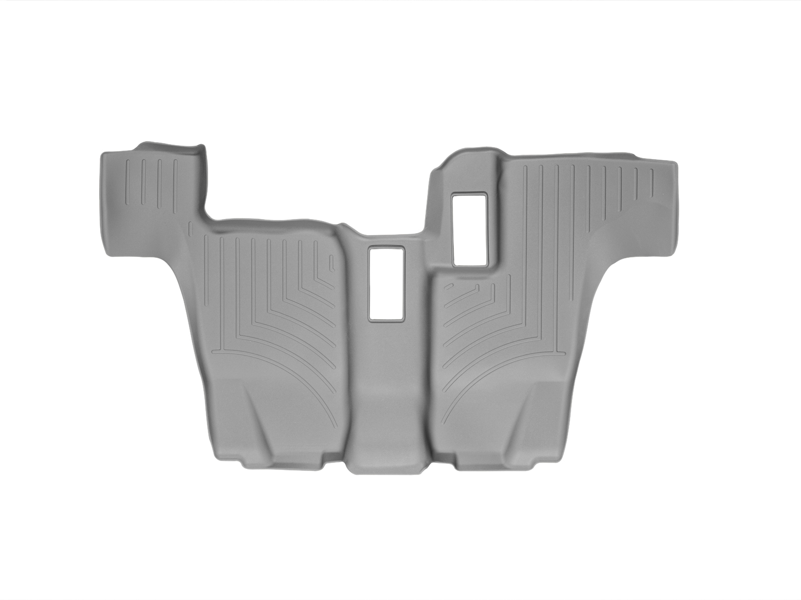 Tappeti gomma su misura bordo alto Mercedes GLS-Class 15>17 Grigio A2510