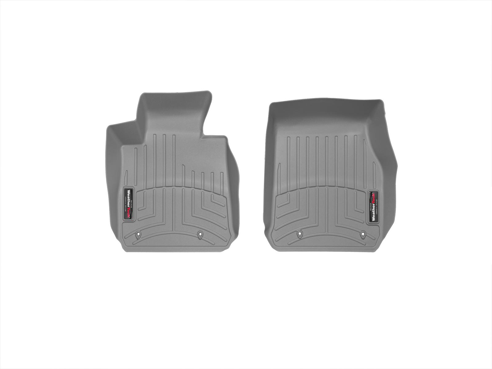 BMW Serie 1 (F20/F21) 11>17 Tappeti gomma su misura bordo alto grigio