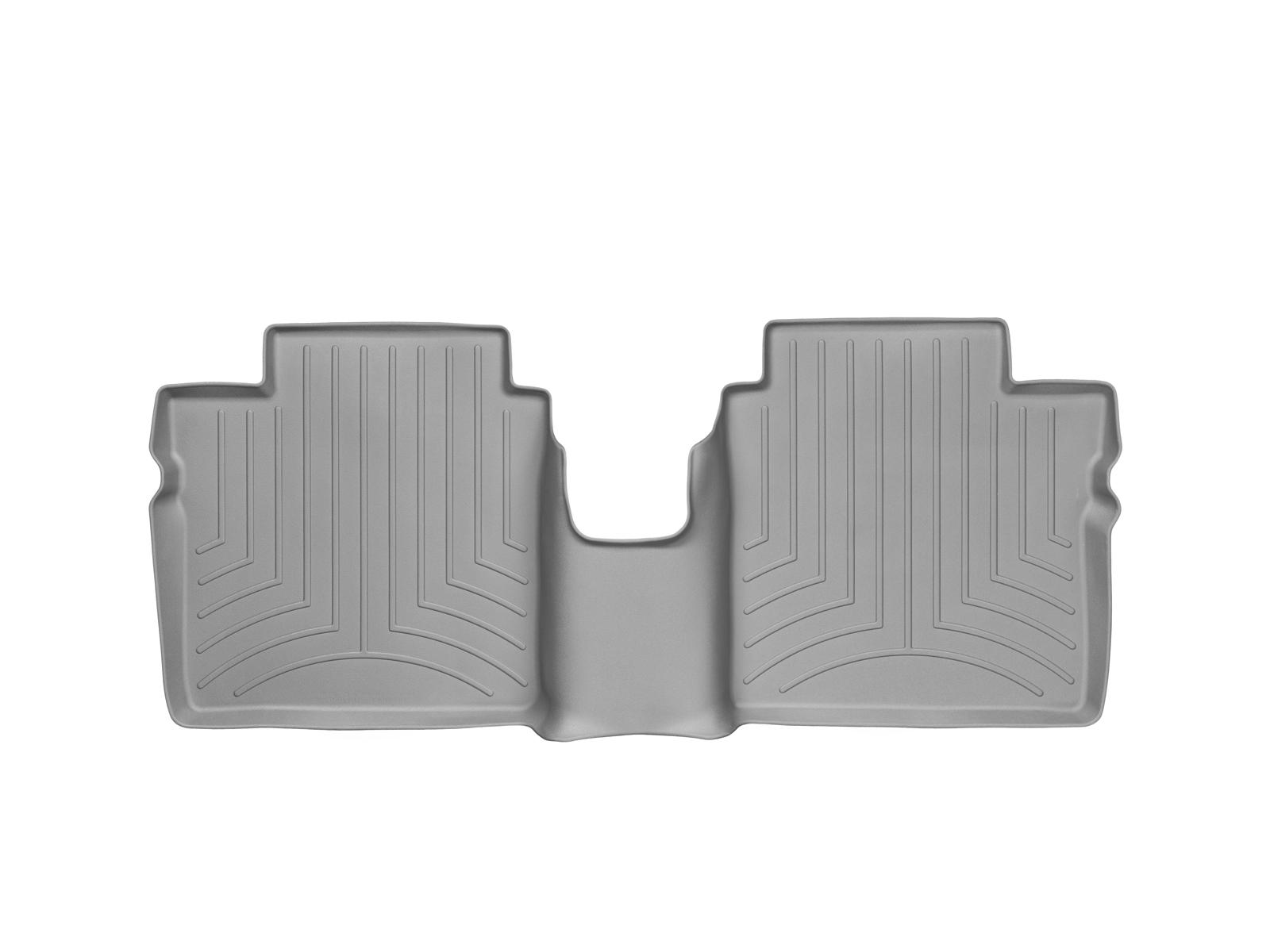 Tappeti gomma su misura bordo alto Nissan Note 14>17 Grigio A2902