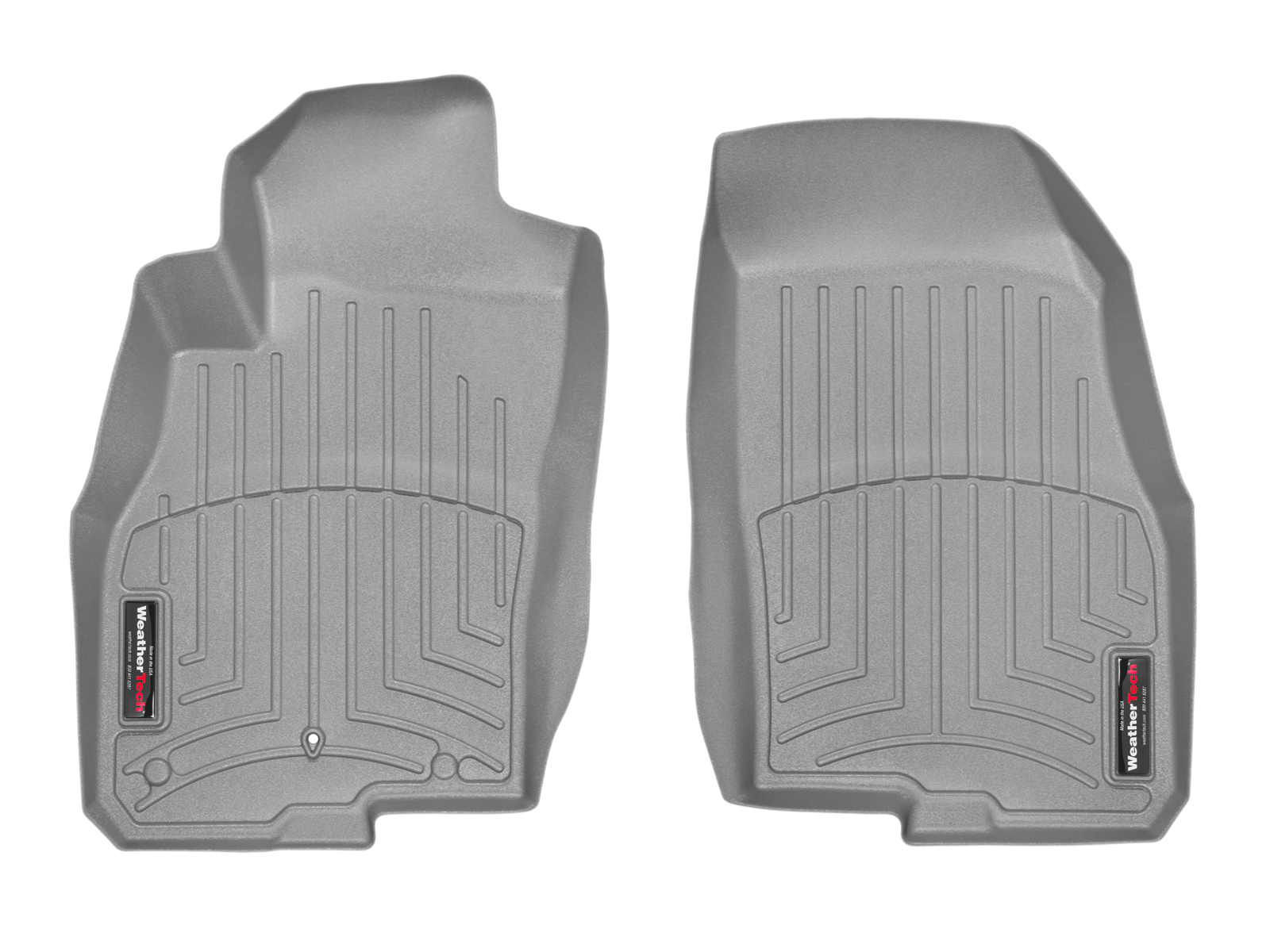 Tappeti gomma su misura bordo alto Fiat Punto EVO 09>13 Grigio A830*