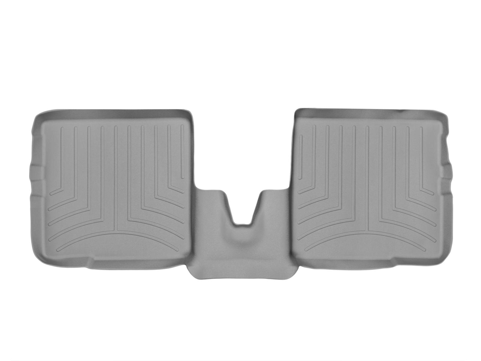 Tappeti gomma su misura bordo alto Fiat Panda 03>10 Grigio A807*