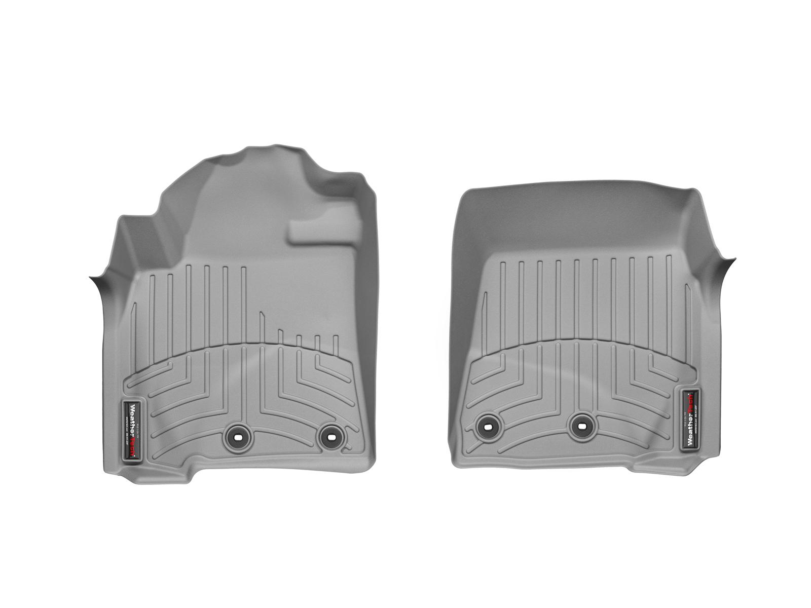 Tappeti gomma su misura bordo alto Toyota Land Cruiser V8 12>12 Grigio A3705*