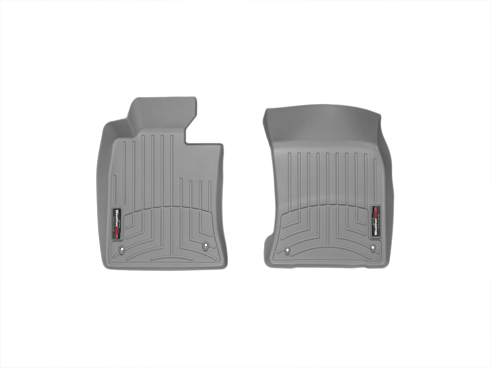 Tappeti gomma su misura bordo alto MINI Coupe 12>15 Grigio A2701*