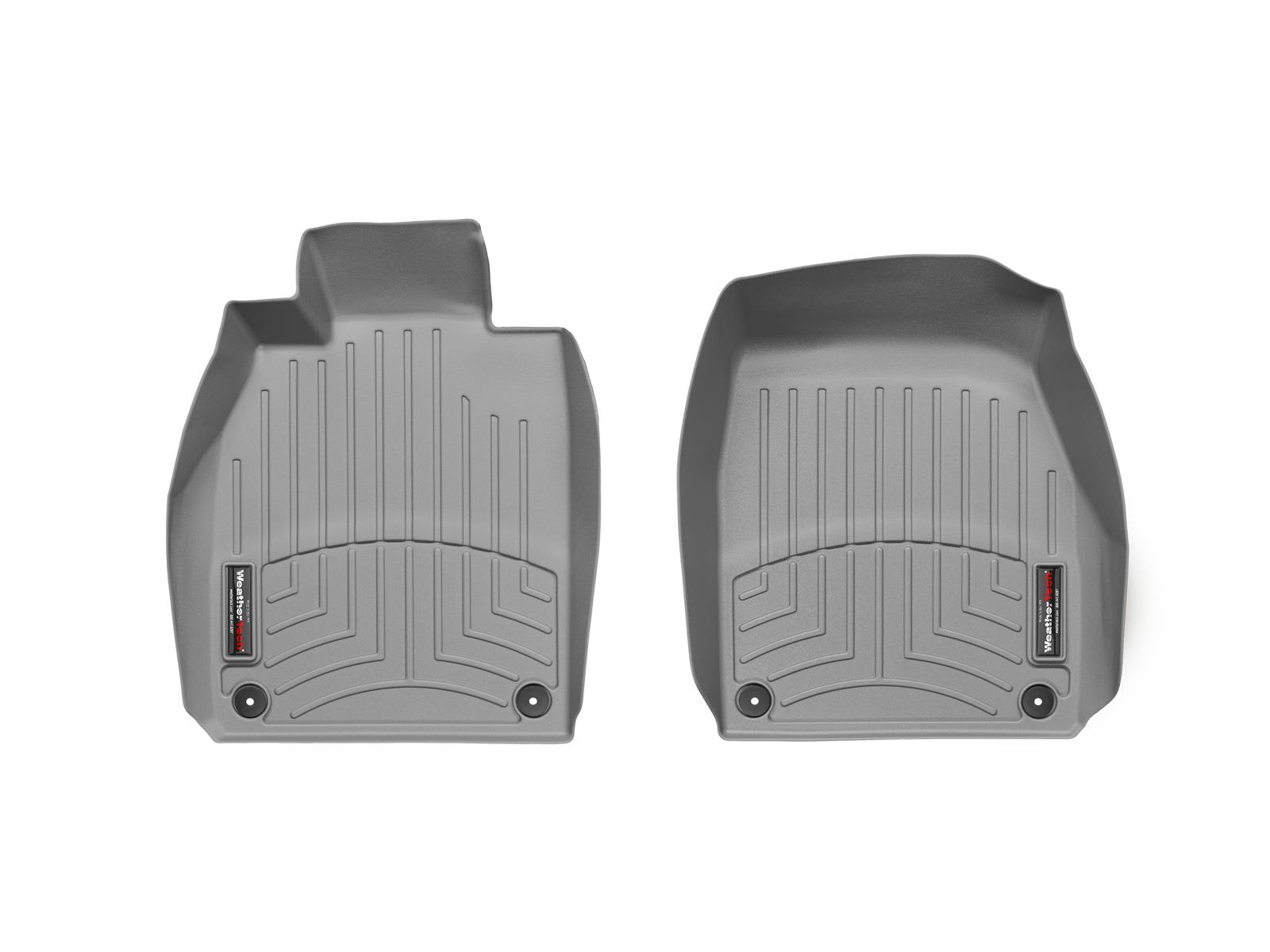 Tappeti gomma su misura bordo alto Porsche® 911 R® (991) 16>17 Grigio A3075