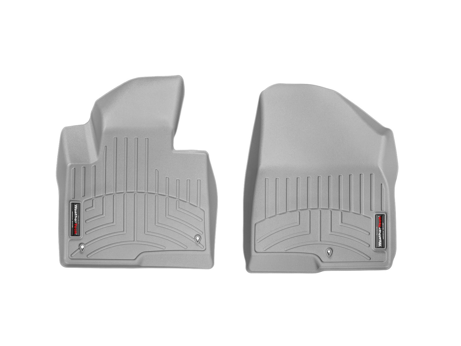 Tappeti gomma su misura bordo alto Hyundai Santa Fe 13>17 Grigio A1490