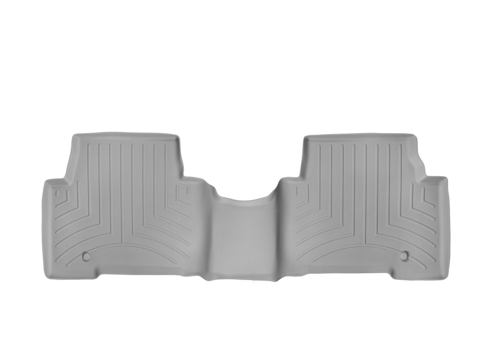 Tappeti gomma su misura bordo alto Hyundai Santa Fe 13>17 Grigio A1491