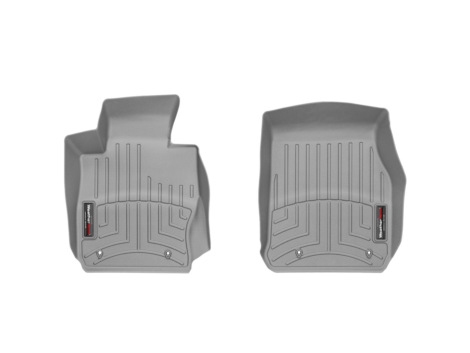 BMW Serie 3 (F30/F31) 12>17 Tappeti gomma su misura bordo alto grigio*