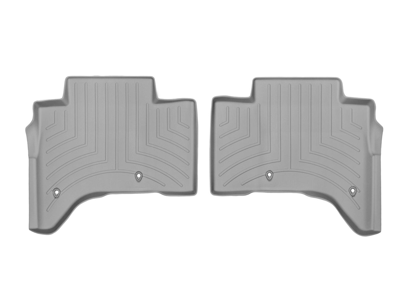 Tappeti gomma su misura bordo alto Land Rover 13>17 Grigio A1982*