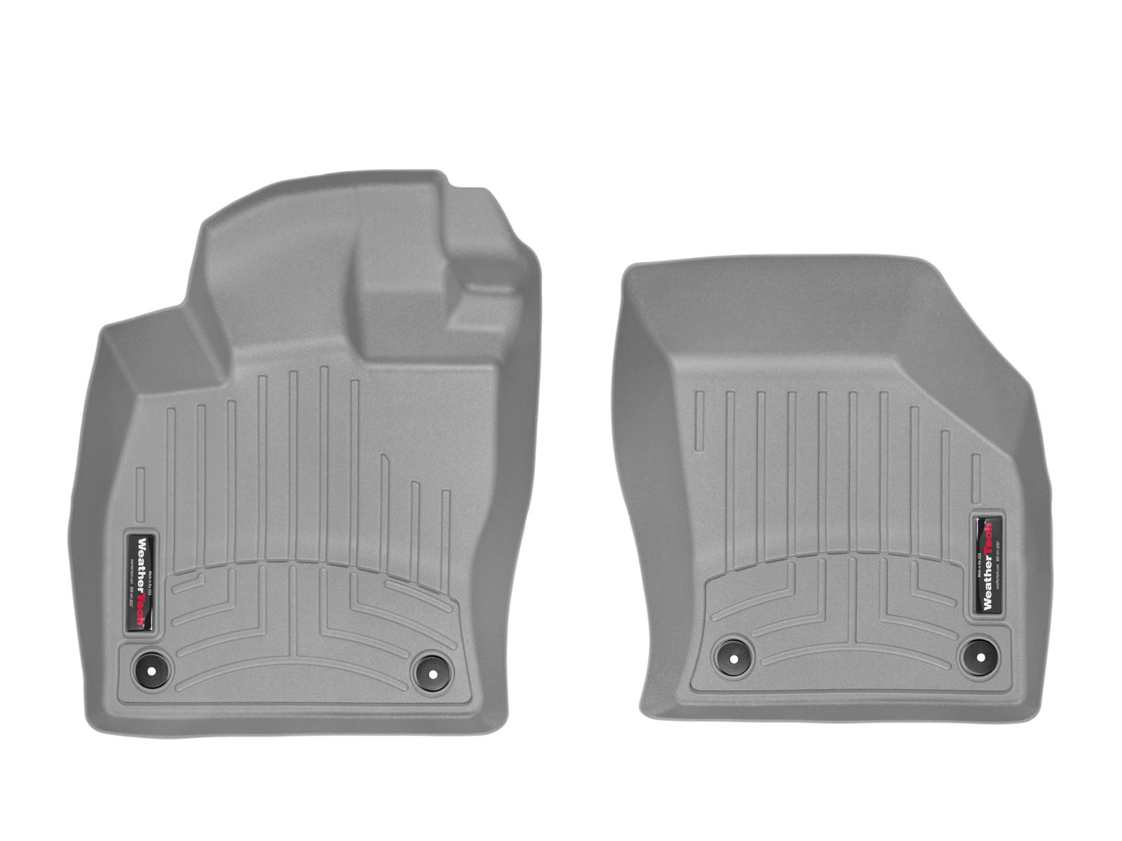 Tappeti gomma su misura bordo alto Volkswagen Golf 4Motion 13>17 Grigio A4064*