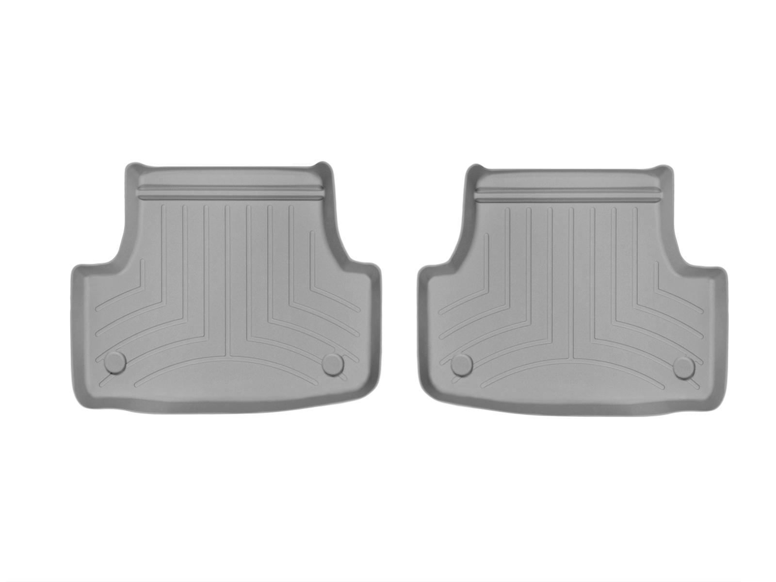 Tappeti gomma su misura bordo alto Volkswagen Golf 4Motion 13>17 Grigio A4065*
