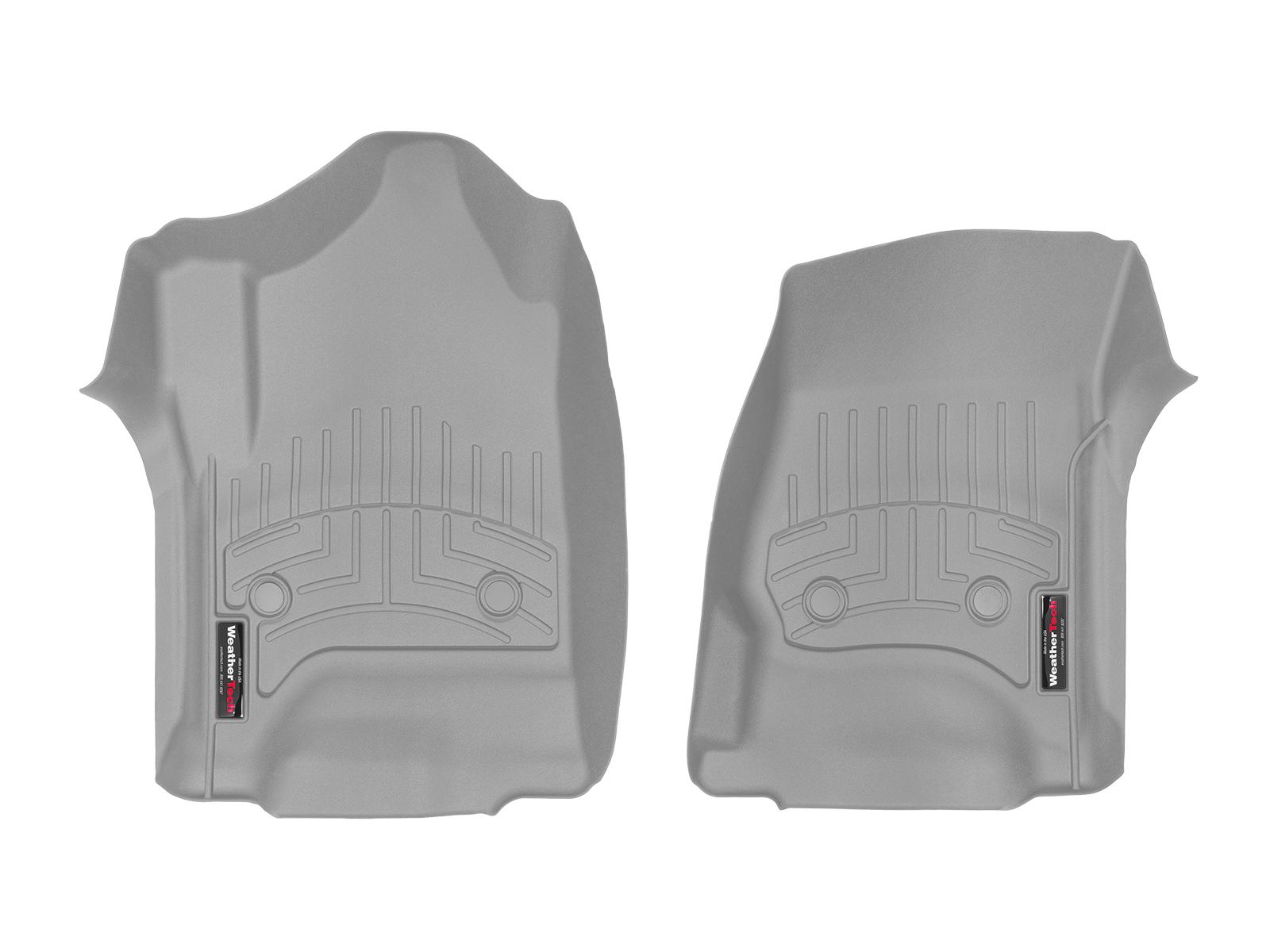 Tappeti gomma su misura bordo alto Chevrolet Silverado 15>17 Grigio A197