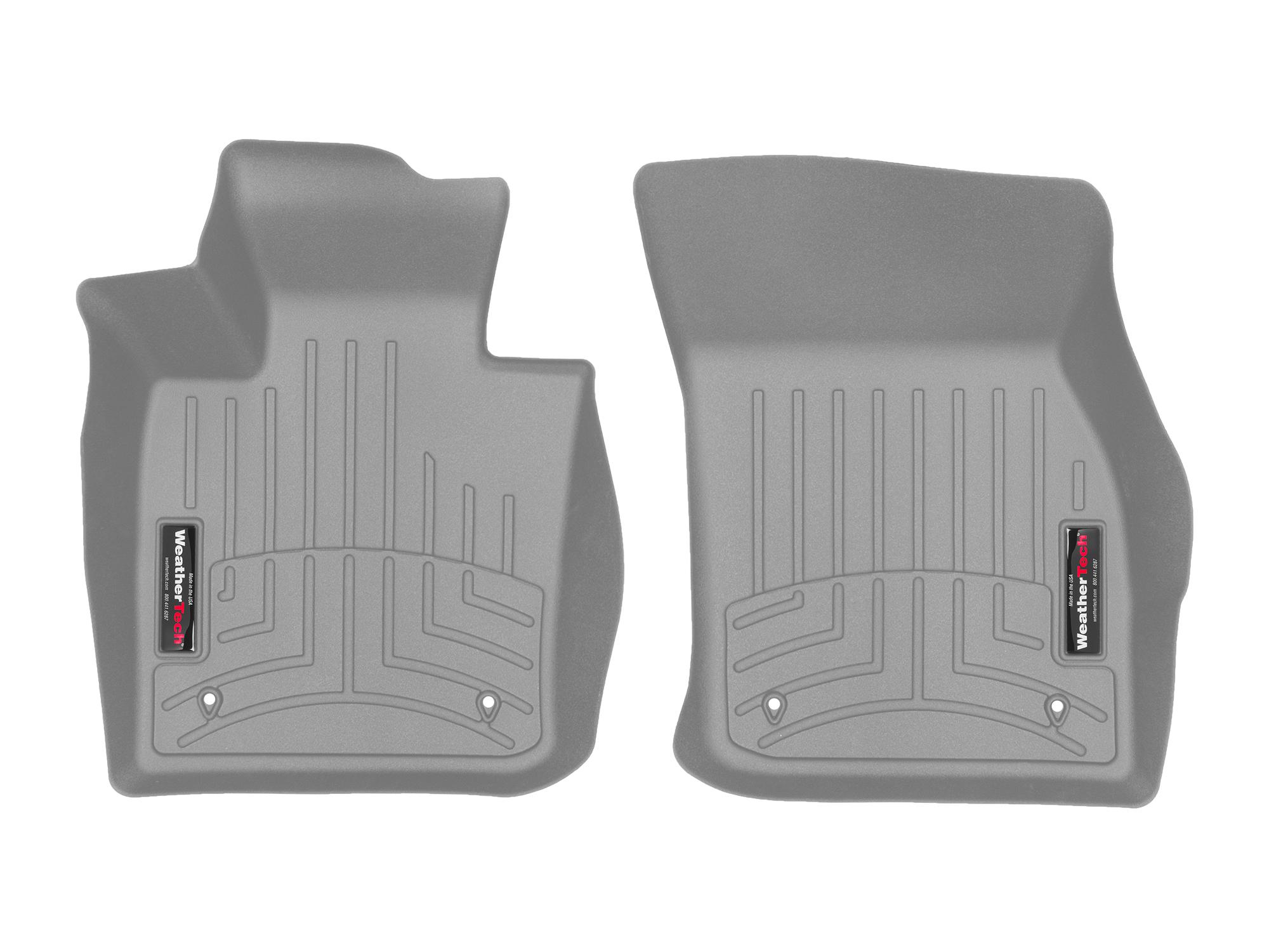 Tappeti gomma su misura bordo alto MINI Mini 14>17 Grigio A2749