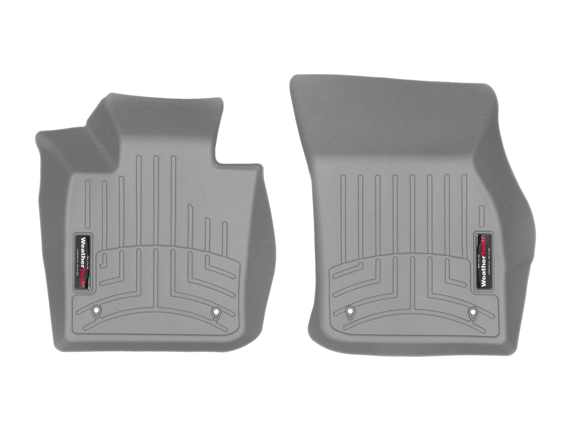 Tappeti gomma su misura bordo alto MINI Mini 14>17 Grigio A2750