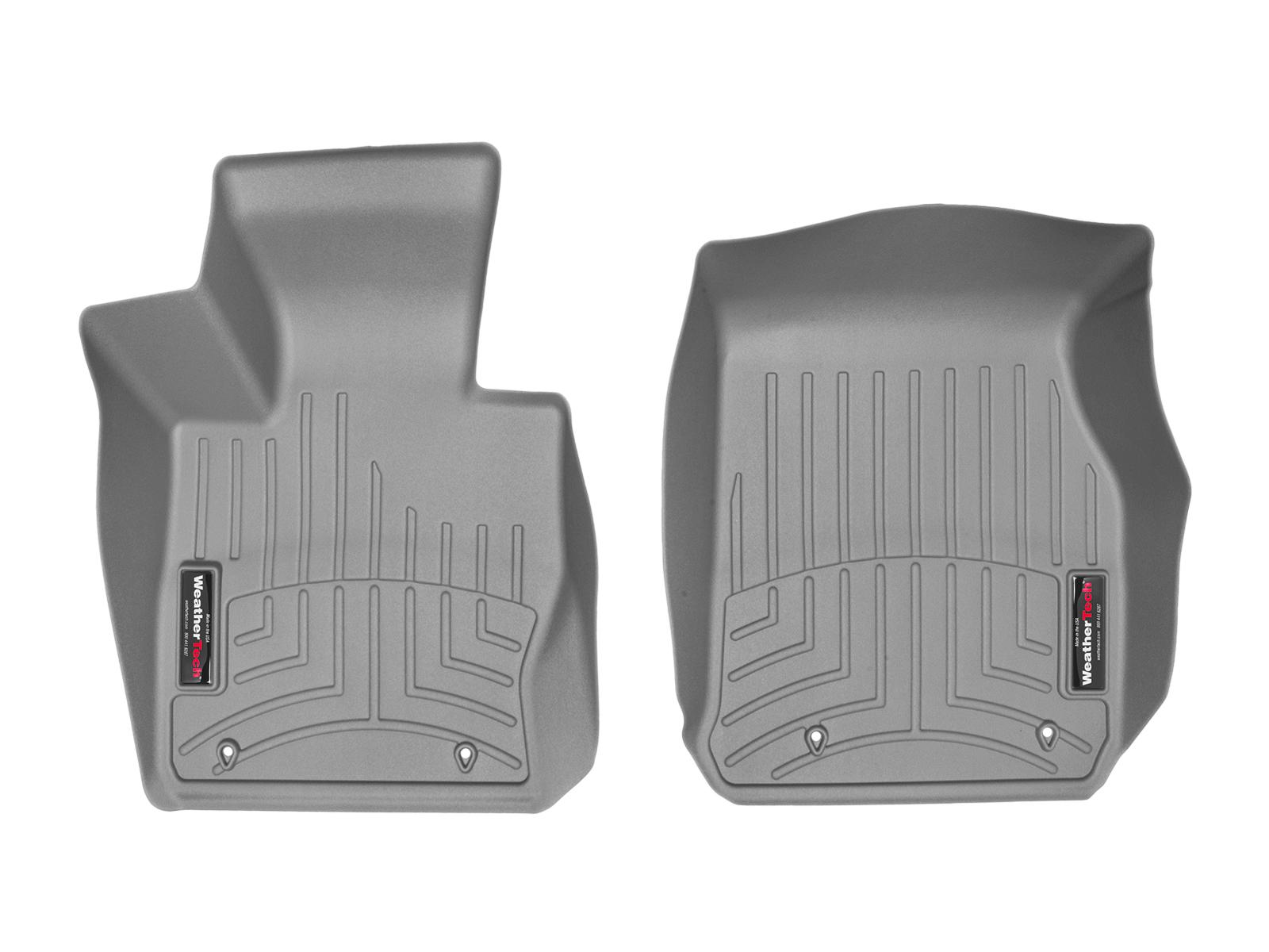 BMW Serie 2 (F22/F23) 14>17 Tappeti gomma su misura bordo alto grigio**
