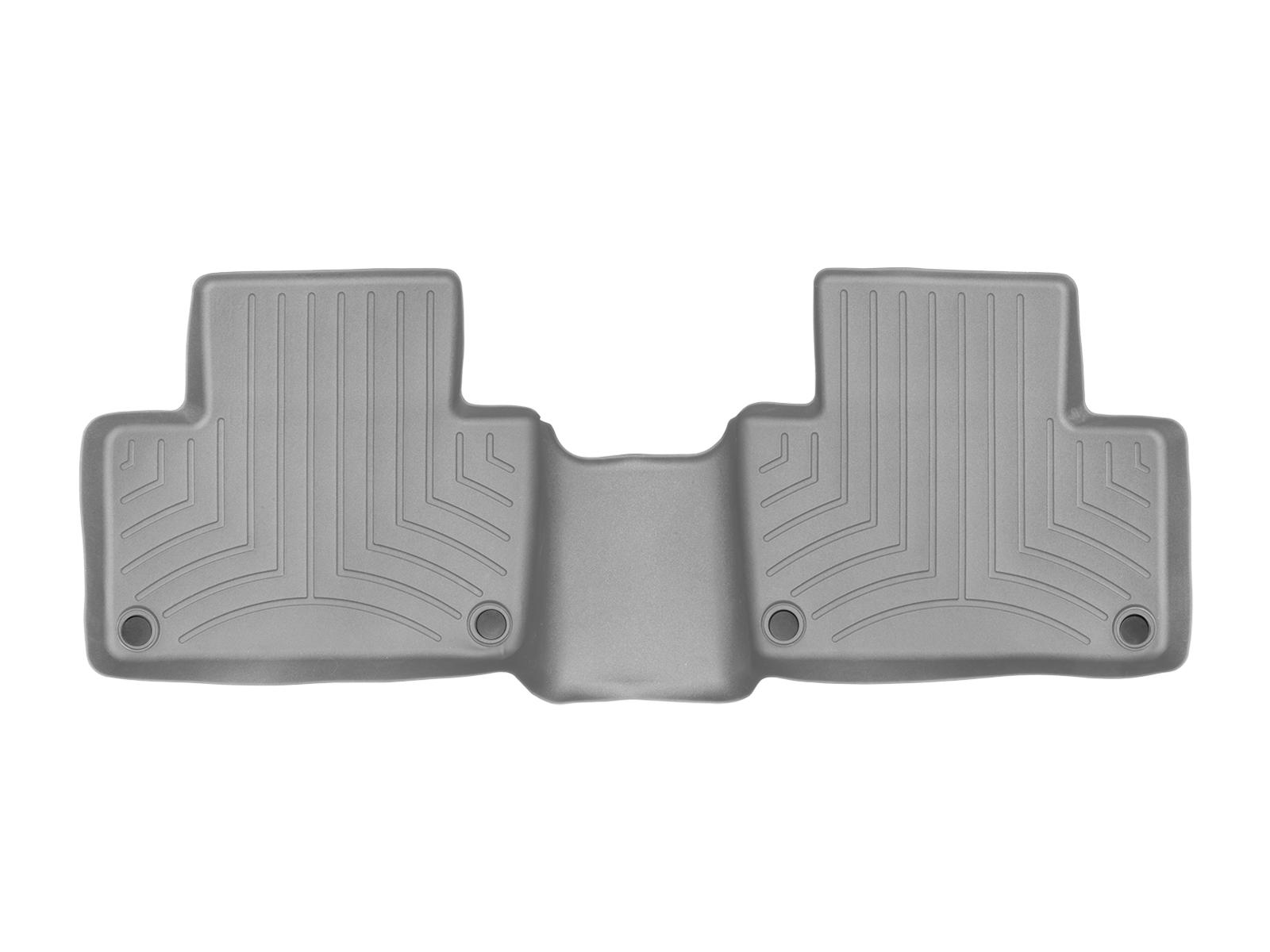 Tappeti gomma su misura bordo alto Volvo XC90 15>17 Grigio A4454*