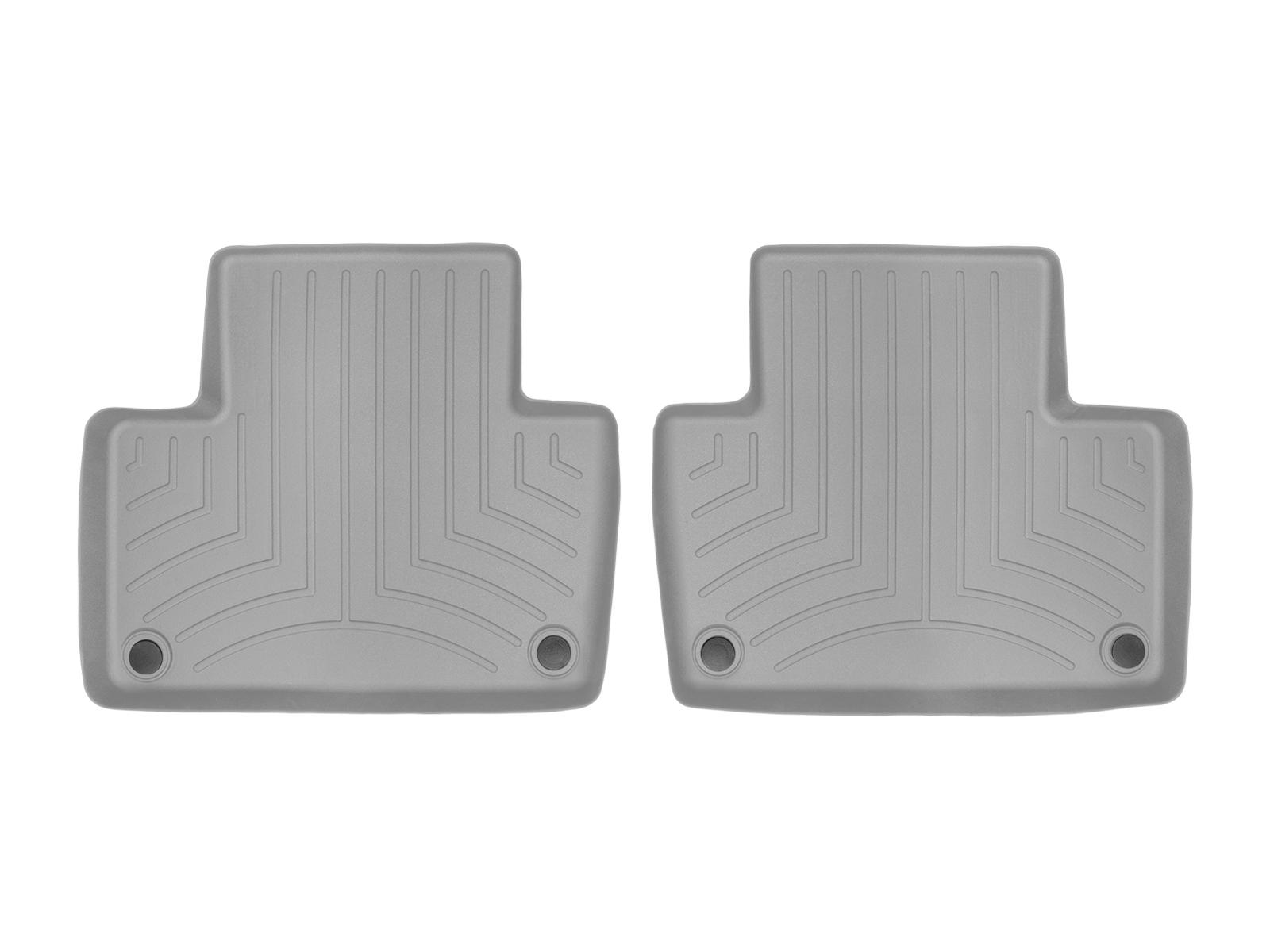 Tappeti gomma su misura bordo alto Volvo XC90 15>17 Grigio A4453*