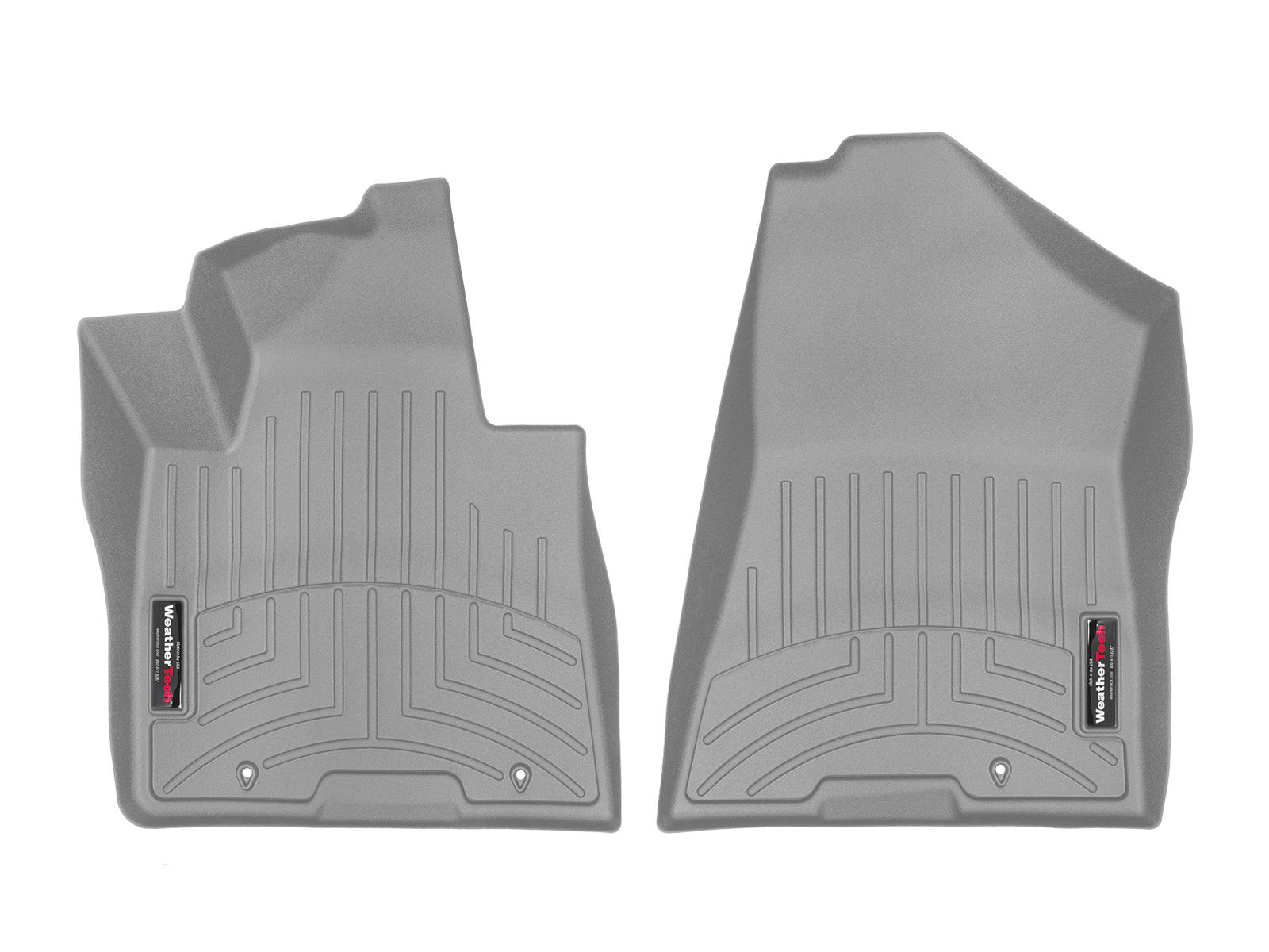 Tappeti gomma Weathertech bordo alto Hyundai Tucson 15>17 Grigio A1498
