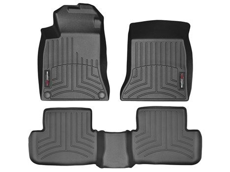 MERCEDES GLA-CLASS 14-ON Universal Heavy Duty Carpet Rubber Floor Mat Set