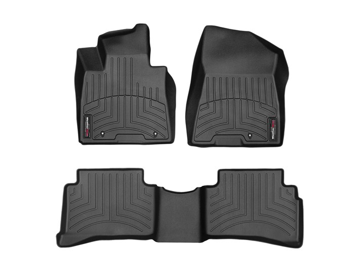 JAGUAR F TYPE 13+ Car Mats Floor RUBBER FRONT Tailored