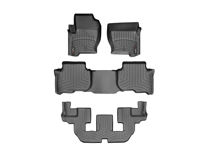 Black 443621 WeatherTech Custom Fit Front FloorLiner for Land Rover Range Rover Sport
