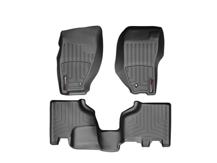 2002-2007 Grey WeatherTech Cargo Liner Trunk Mat for Jeep Liberty