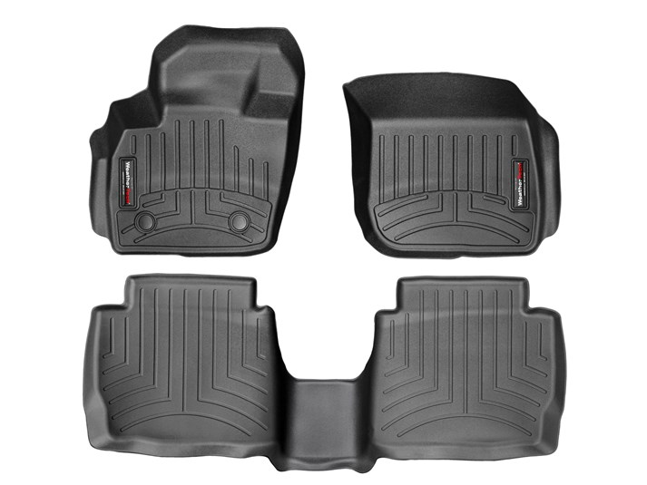 Black WeatherTech Trim to Fit Front Rubber Mats for Ford Escape